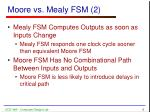 moore vs mealy fsm 2