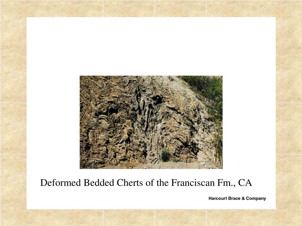 Deformed Bedded Cherts of the Franciscan Fm., CA