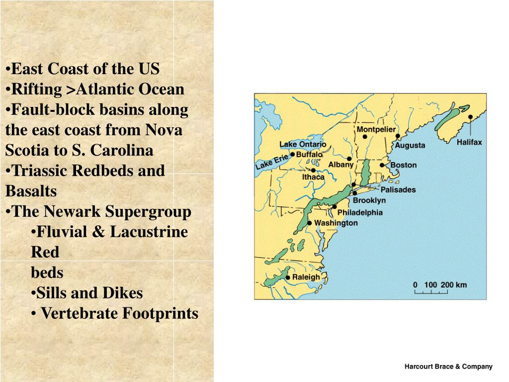 East Coast of the US
