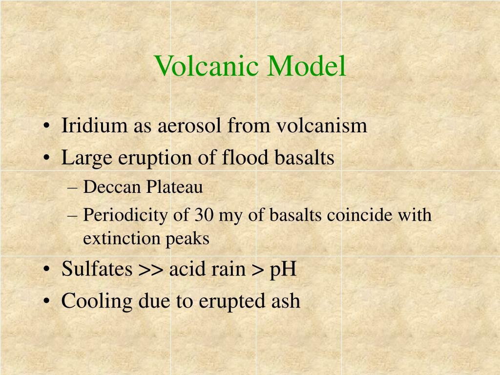 Volcanic Model
