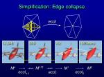 simplification edge collapse