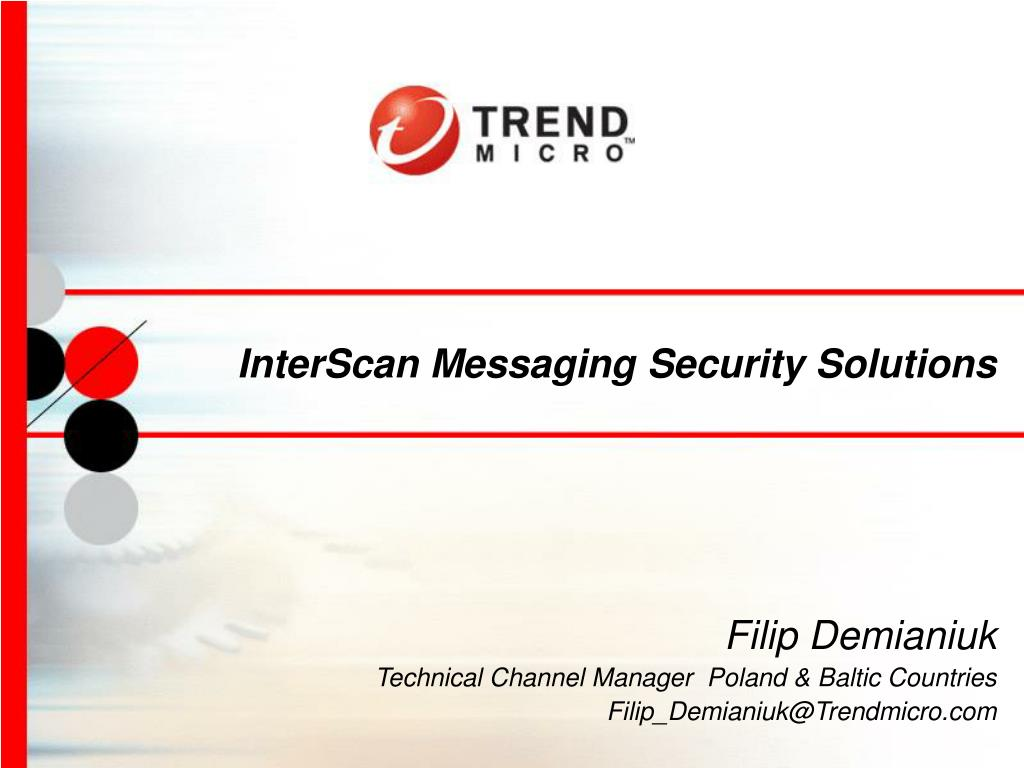 interscan messaging security solutions l.