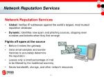 network reputation services