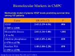 biomolecular markers in cmpc