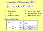 extraction of coseismic effect34