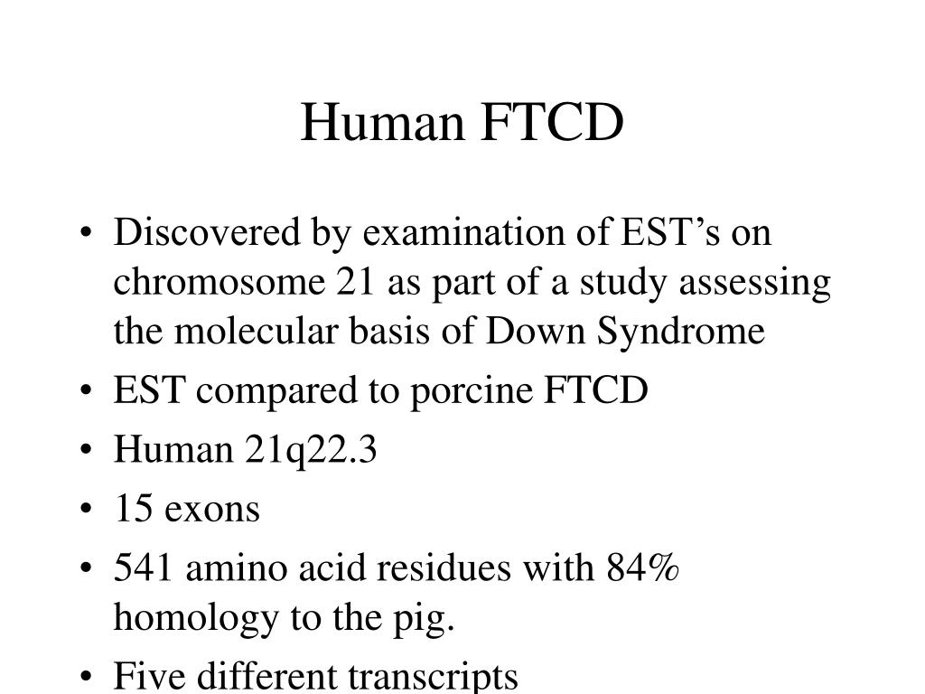 Human FTCD
