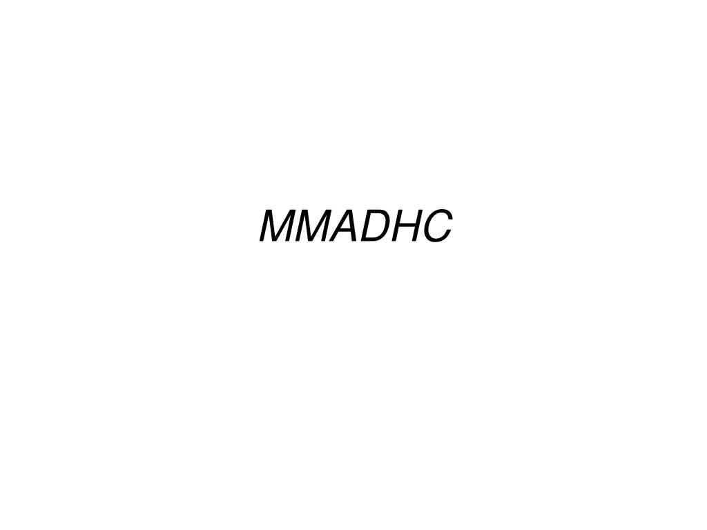 MMADHC