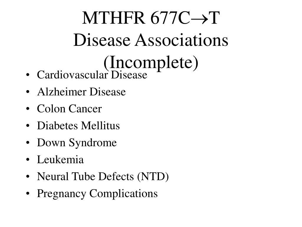 MTHFR 677C