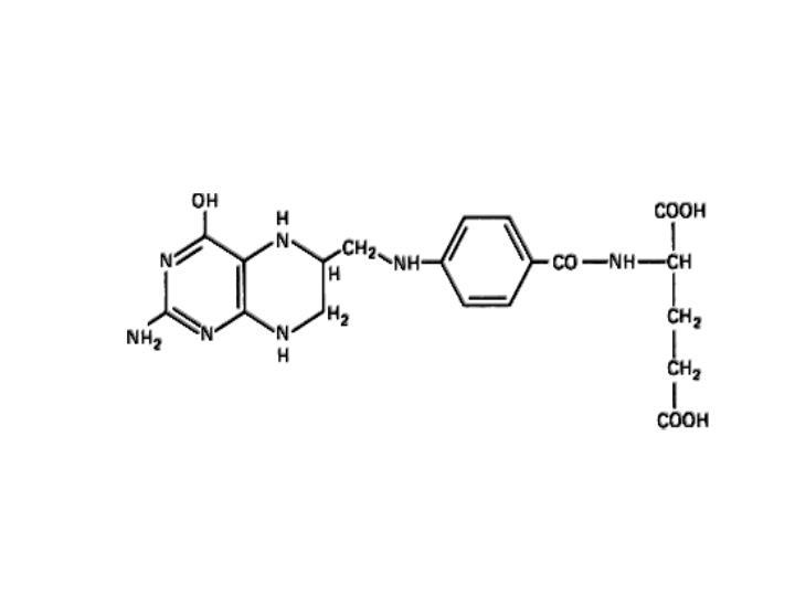 Structure of tetrahydrofolate
