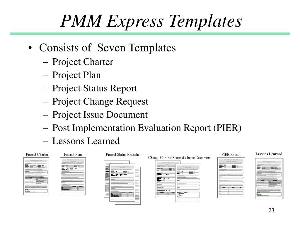 PMM Express Templates