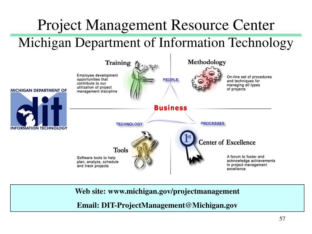 Project Management Resource Center