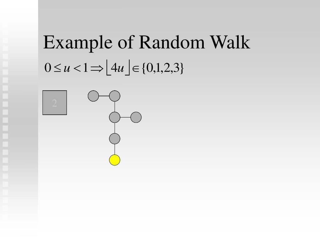 Example of Random Walk