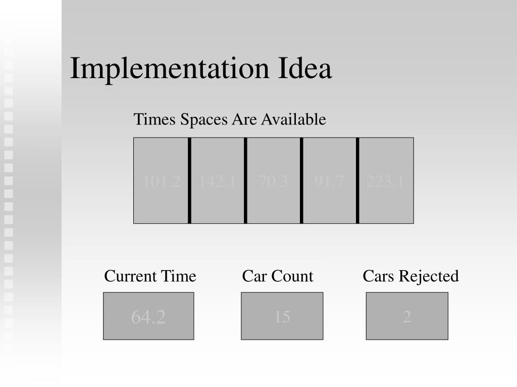 Implementation Idea