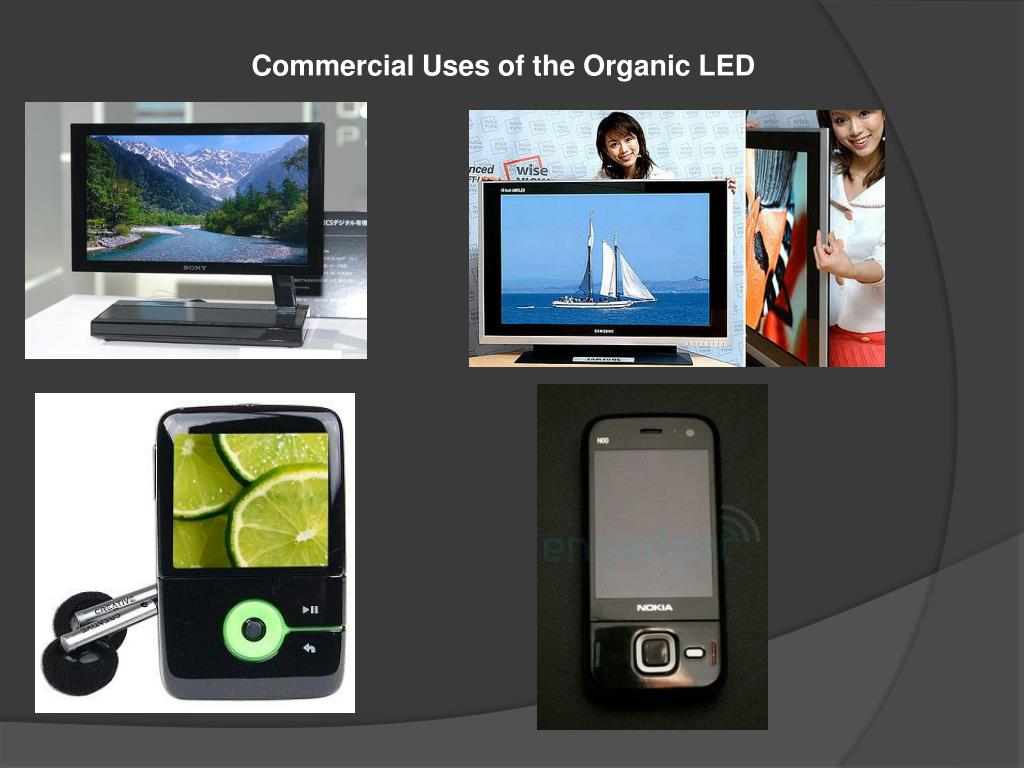 Commercial Uses of the Organic LED