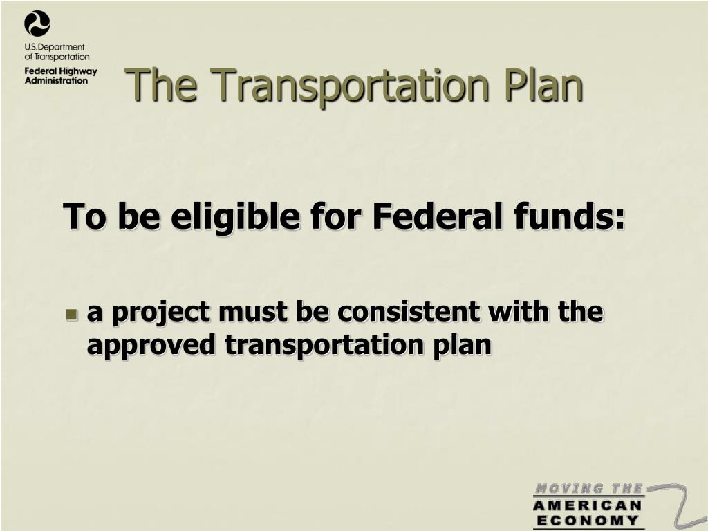 The Transportation Plan