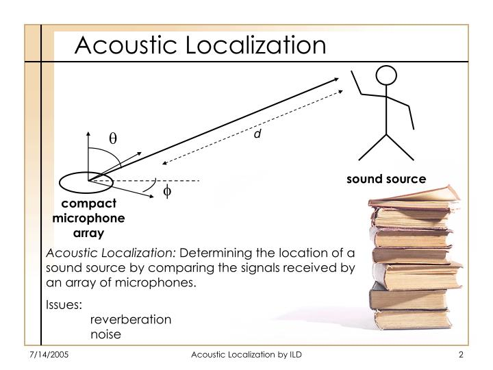 Acoustic localization