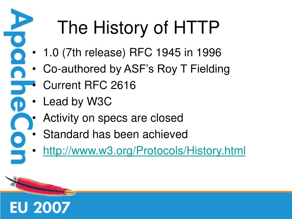 The History of HTTP