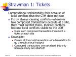 strawman 1 tickets