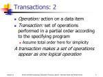 transactions 2