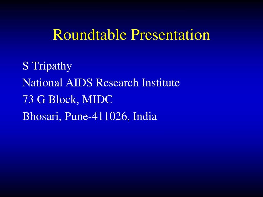 roundtable presentation l.