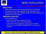 base population