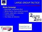 large group tactics25