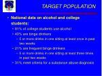 target population10