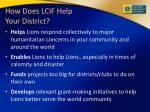 how does lcif help your district