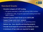 standard grants
