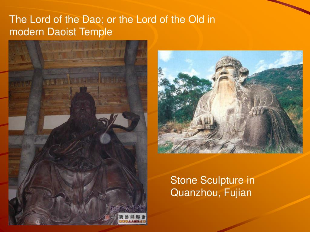 The Lord of the Dao; or the Lord of the Old in modern Daoist Temple