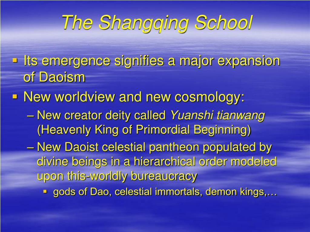 The Shangqing School