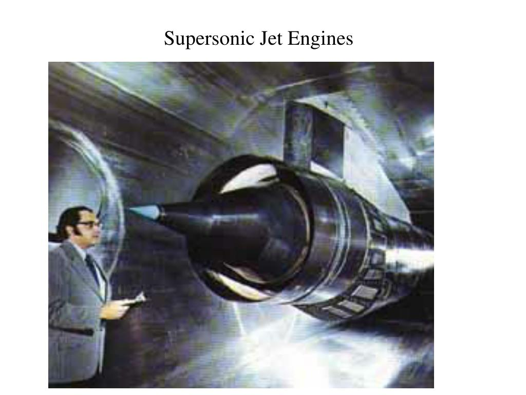 Supersonic Jet Engines
