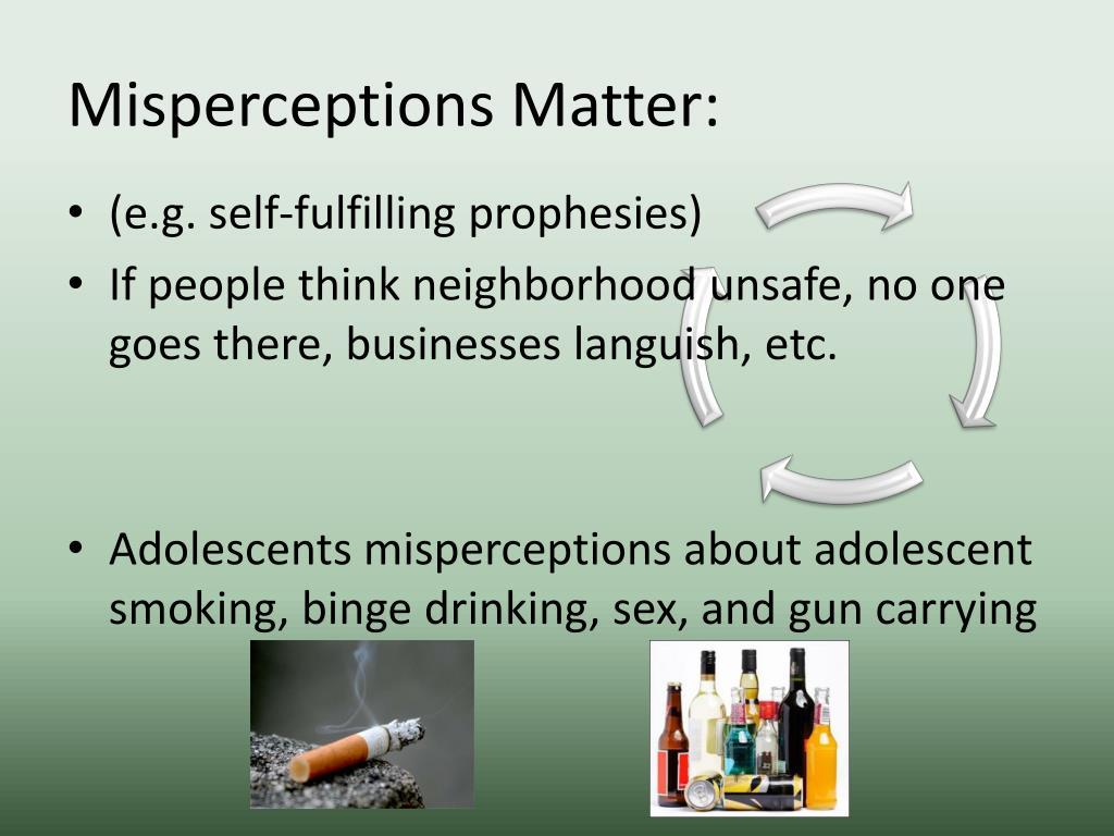 Misperceptions Matter: