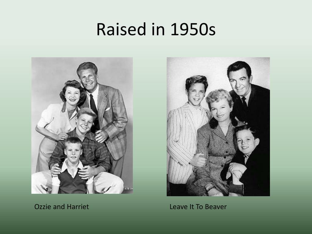 Raised in 1950s