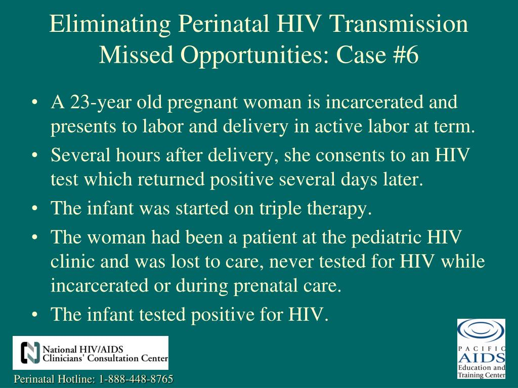 A 23-year old pregnant woman is incarcerated and presents to labor and delivery in active labor at term.