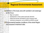 regional environmental assessment