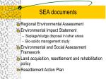 sea documents