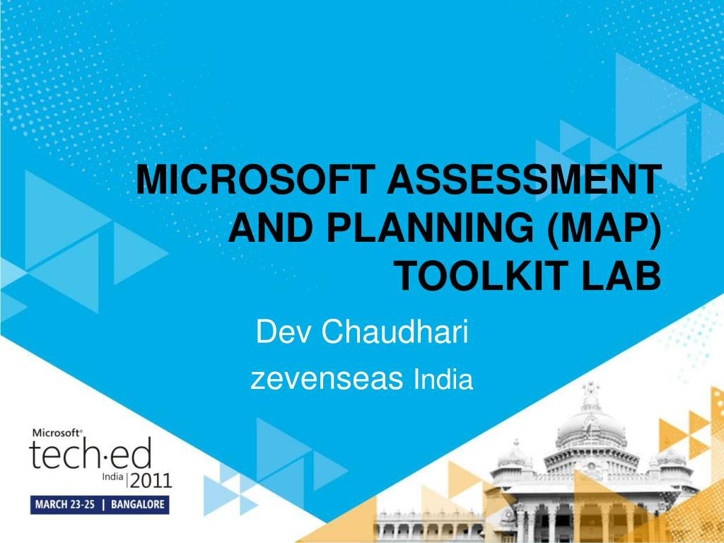 microsoft assessment and planning map toolkit lab l.