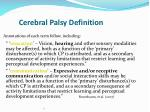 cerebral palsy definition3