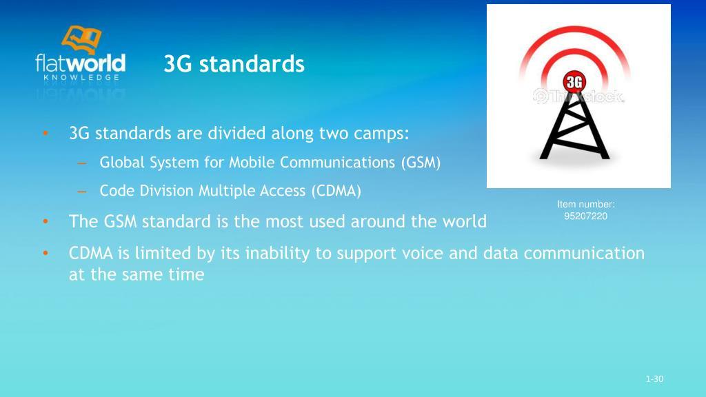 3G standards