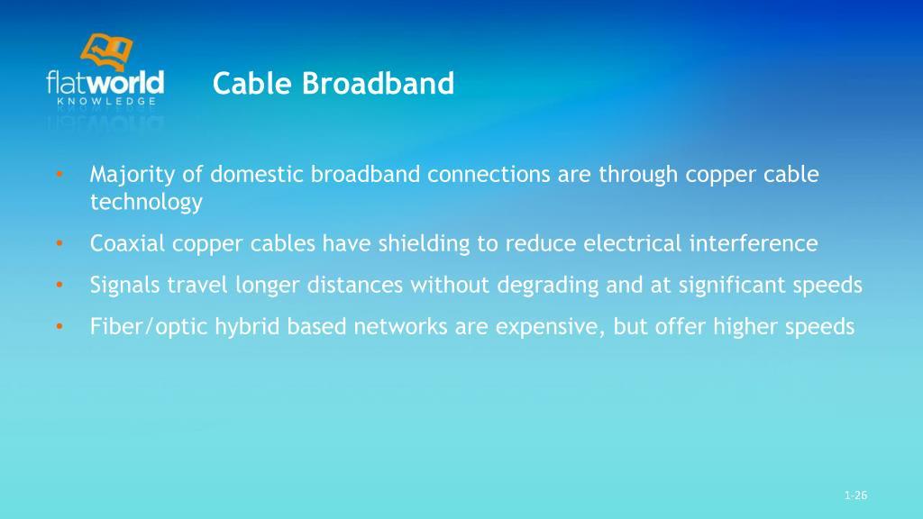 Cable Broadband