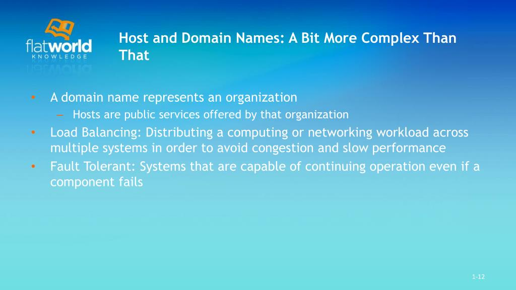 Host and Domain Names: A Bit More Complex Than That