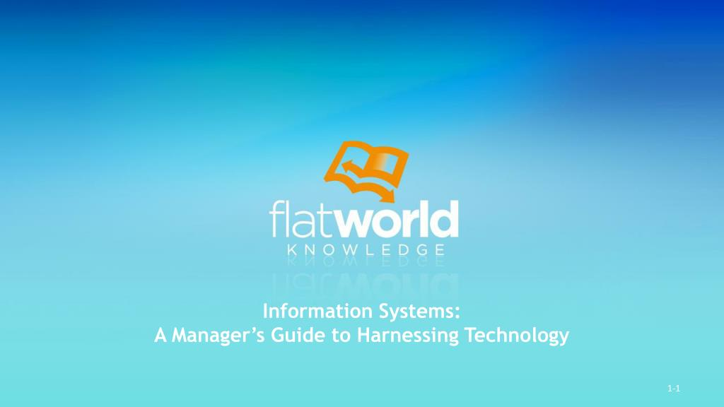 Information Systems: