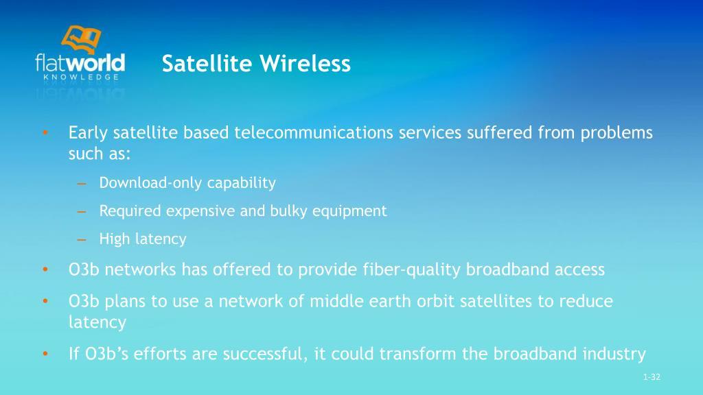 Satellite Wireless