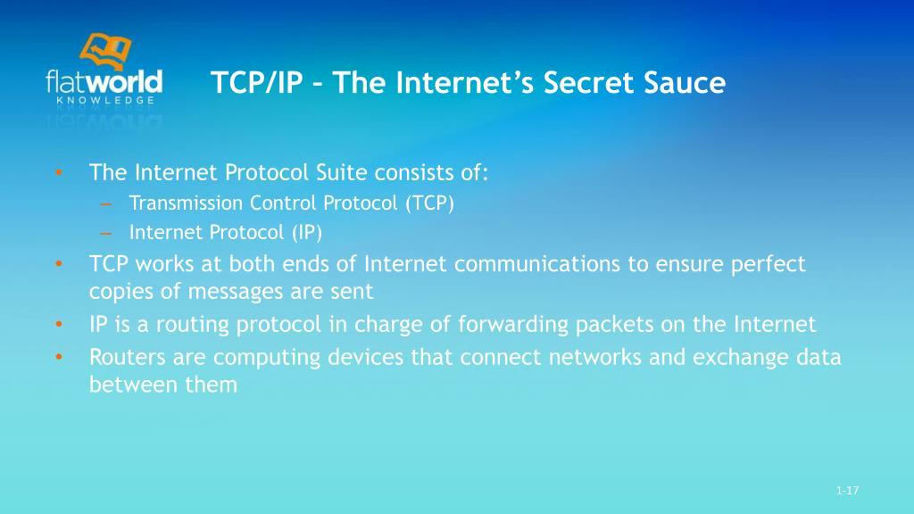 TCP/IP – The Internet's Secret Sauce