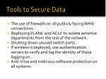 tools to secure data2