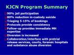 kjcn program summary
