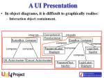 a ui presentation