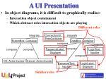 a ui presentation9