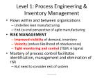 level 1 process engineering inventory management